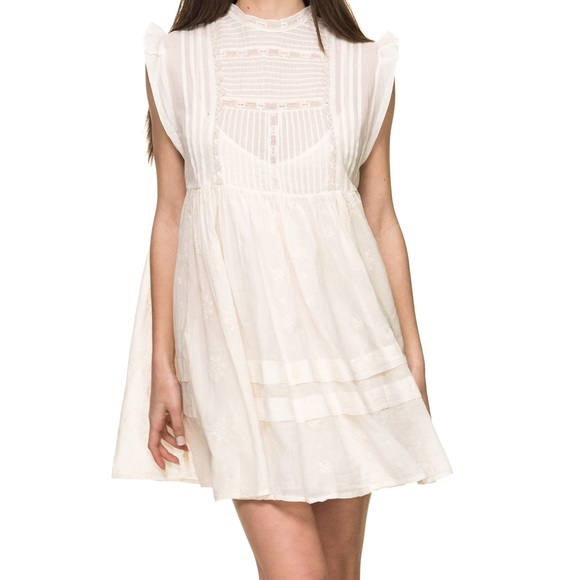79397a19431a Free People Dresses | Nobody Like You Mini Ivory Dress M | Poshmark